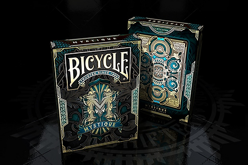 Bicycle Mystique (Blue) Playing Cards