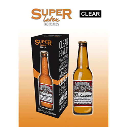 copia de Super Latex Brown Beer Bottle (Half)