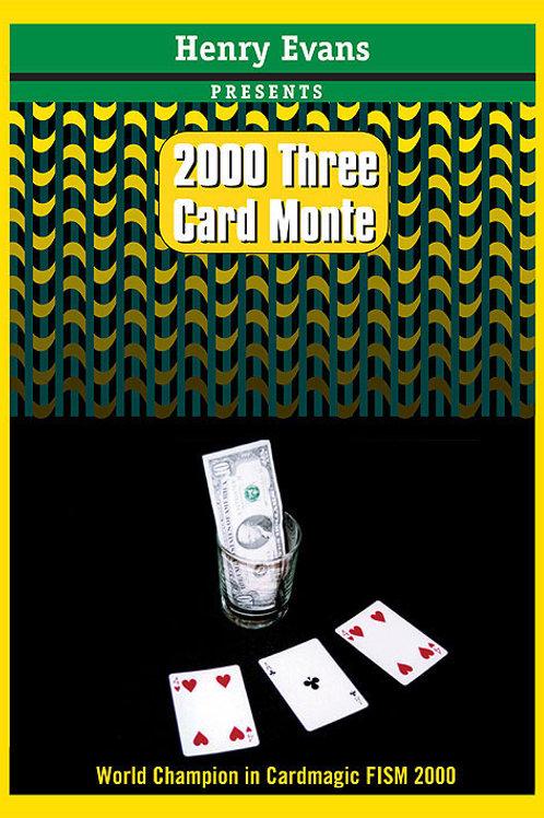 2000 THREE CARD MONTE