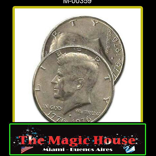 Cascarilla Expandida Medio Dolar (Bicentenario Cara)