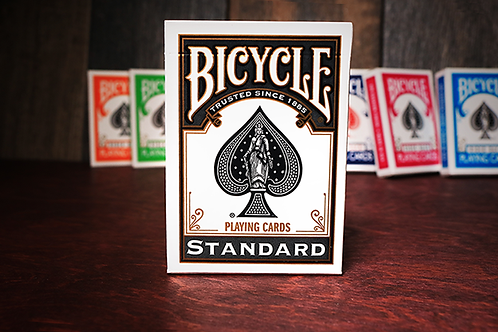 Bicycle Black Playing Cards