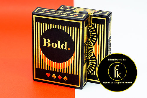 Bold (Deluxe Edition) Playing Cards