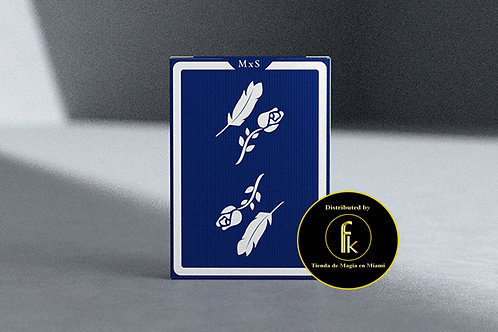 Royal Blue Remedies Playing Cards