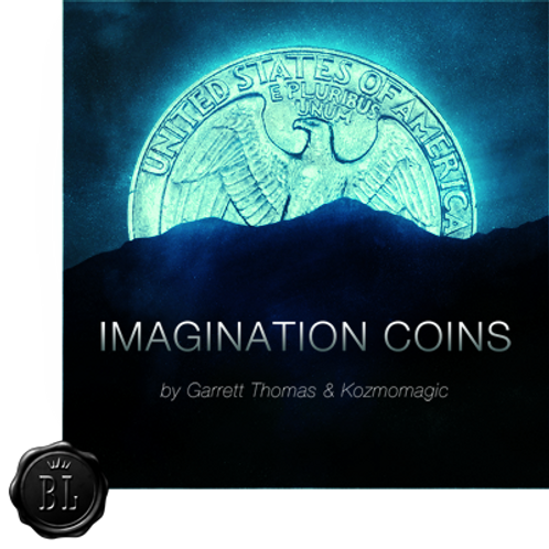Imagination Coins US Quarter (DVD and Gimmicks) by Garrett Thomas and K
