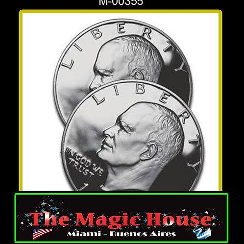 Cascarilla Expandida 1 Dolar (Eisenhower)Cascarilla Expandida 1 Dolar (Eisenhowe