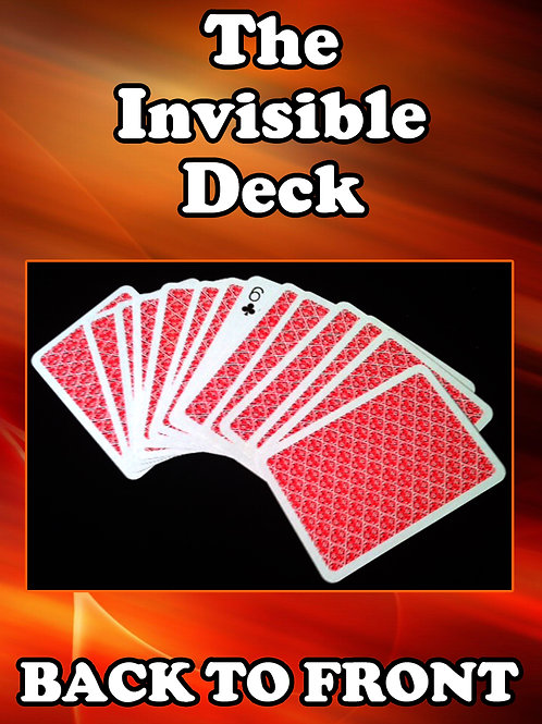 "MINI JUMBO - THE INVISIBLE DECK ""Back to Front"""