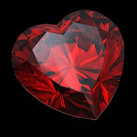 HEART OF PASSION - CRYSTAL FASHION JEWELRY