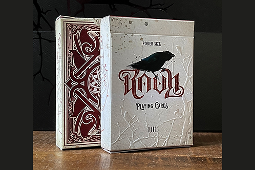RAVN IIII (Red) Playing Cards Designed