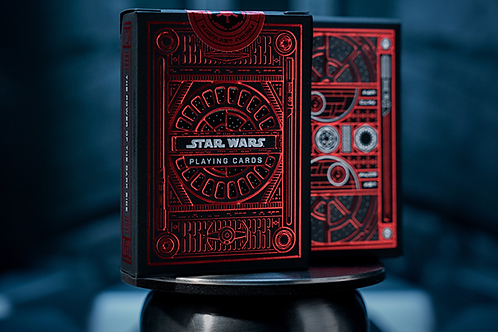 Naipes de Star Wars Dark Side (RED)