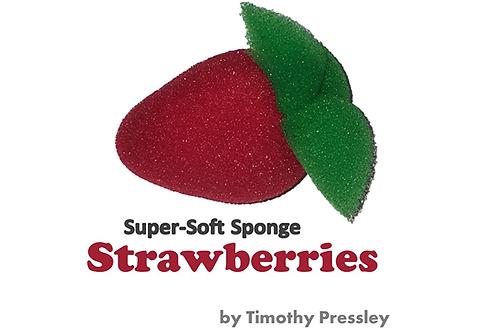 Super-Soft Sponge Strawberries
