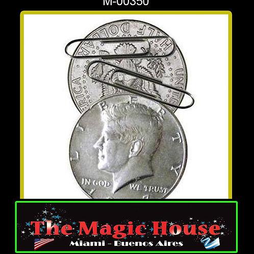 Moneda Flipper Magnética Medio Dolar