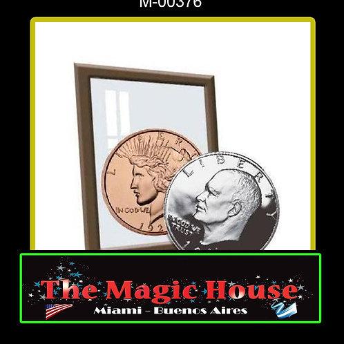 Plata y Cobre 1 Dolar Eisenhower/ 1 Oz Cobre