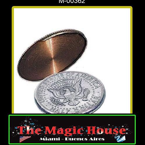Cascarilla Expandida Deslizable Medio Dolar (Dorso)