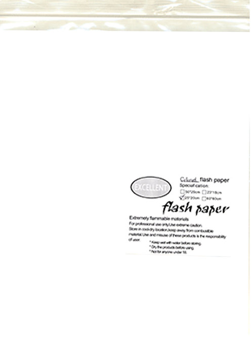 Flash Paper five pack(25x20cm)WHITE