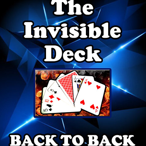 "MINI JUMBO - THE INVISIBLE DECK ""Back to Back"""