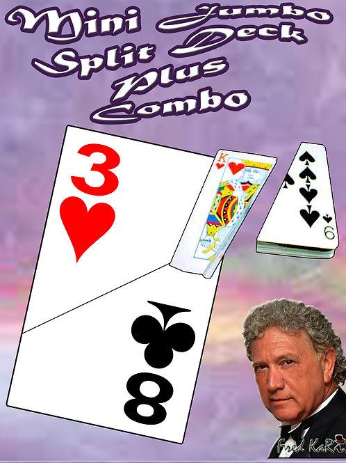 """MINI JUMBO - SPLIT DECK """"PLUS"""" COMBO"""