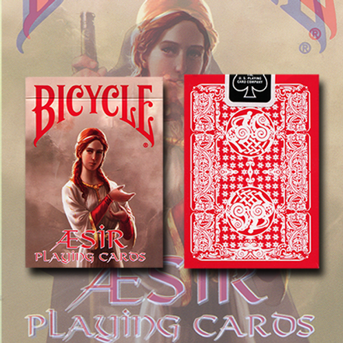 Bicycle AEsir Viking Gods Deck (Red)