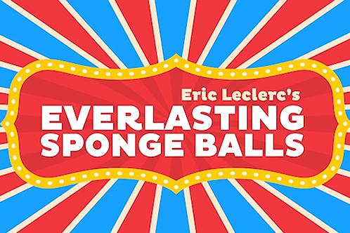 Everlasting Sponge Balls (Gimmick and Online Instructions)