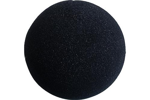 4 inch Super Soft Sponge Ball (Black) from Magic by Gosh (1 each)