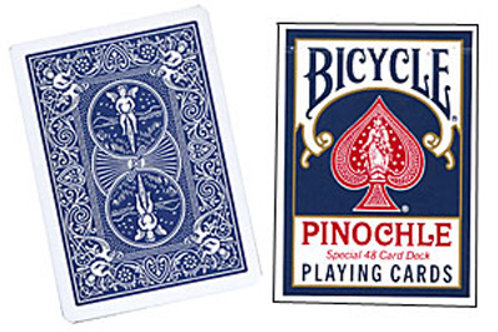 Bicycle Pinochle Poker-size (Blue)