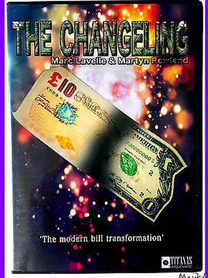 Changeling ODO (Gimmicks and Online Instructions) by Marc Lavelle and T