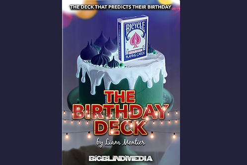 The Birthday Deck (Gimmicks and Online Instructions)