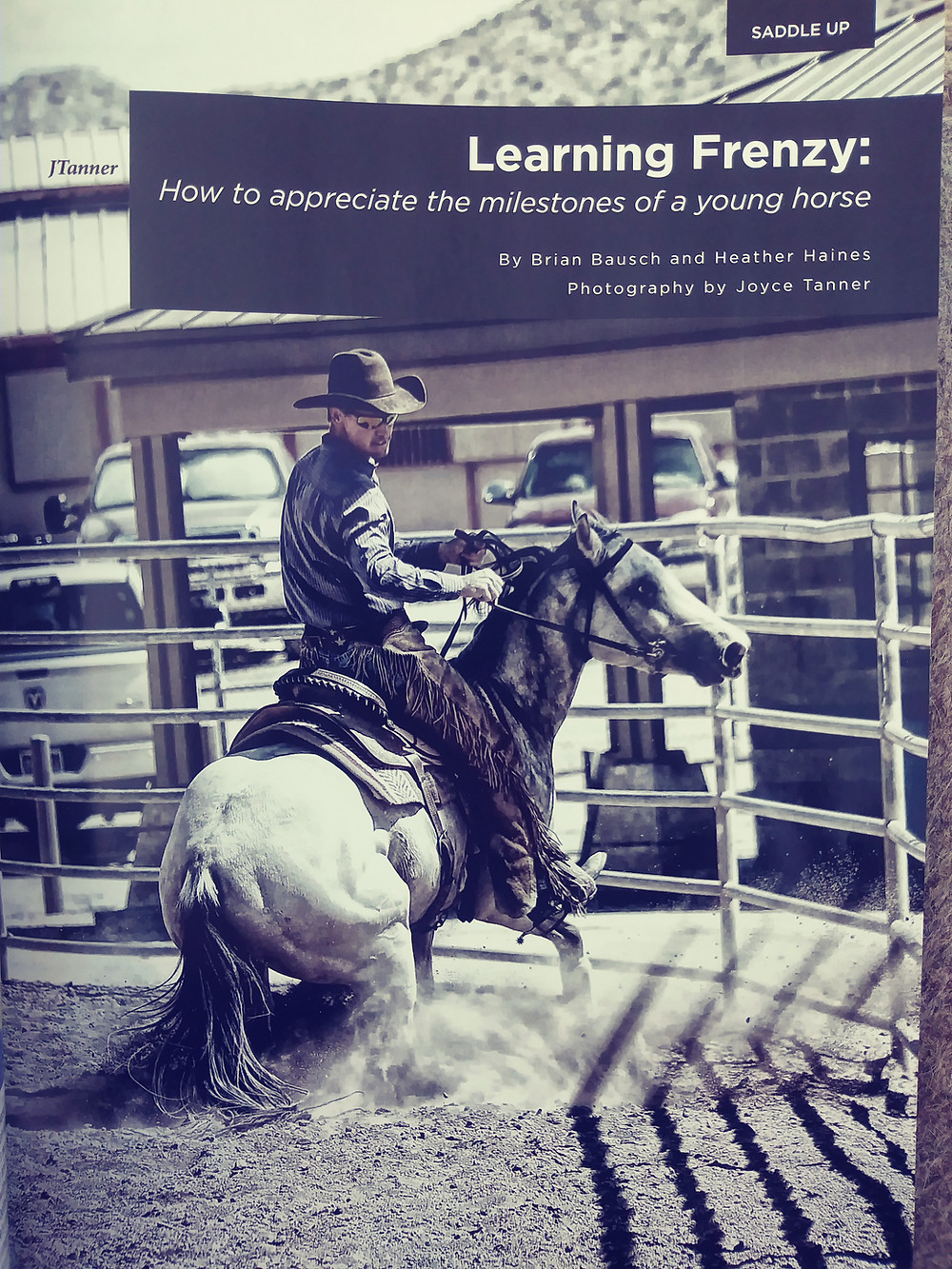 Futurity article in the current issue of Western Horse and Gun Magazine !