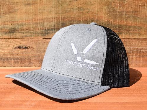 Gray/Black Strutter Shop Hat