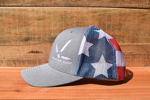 """Merica"" Strutter Shop Hat"