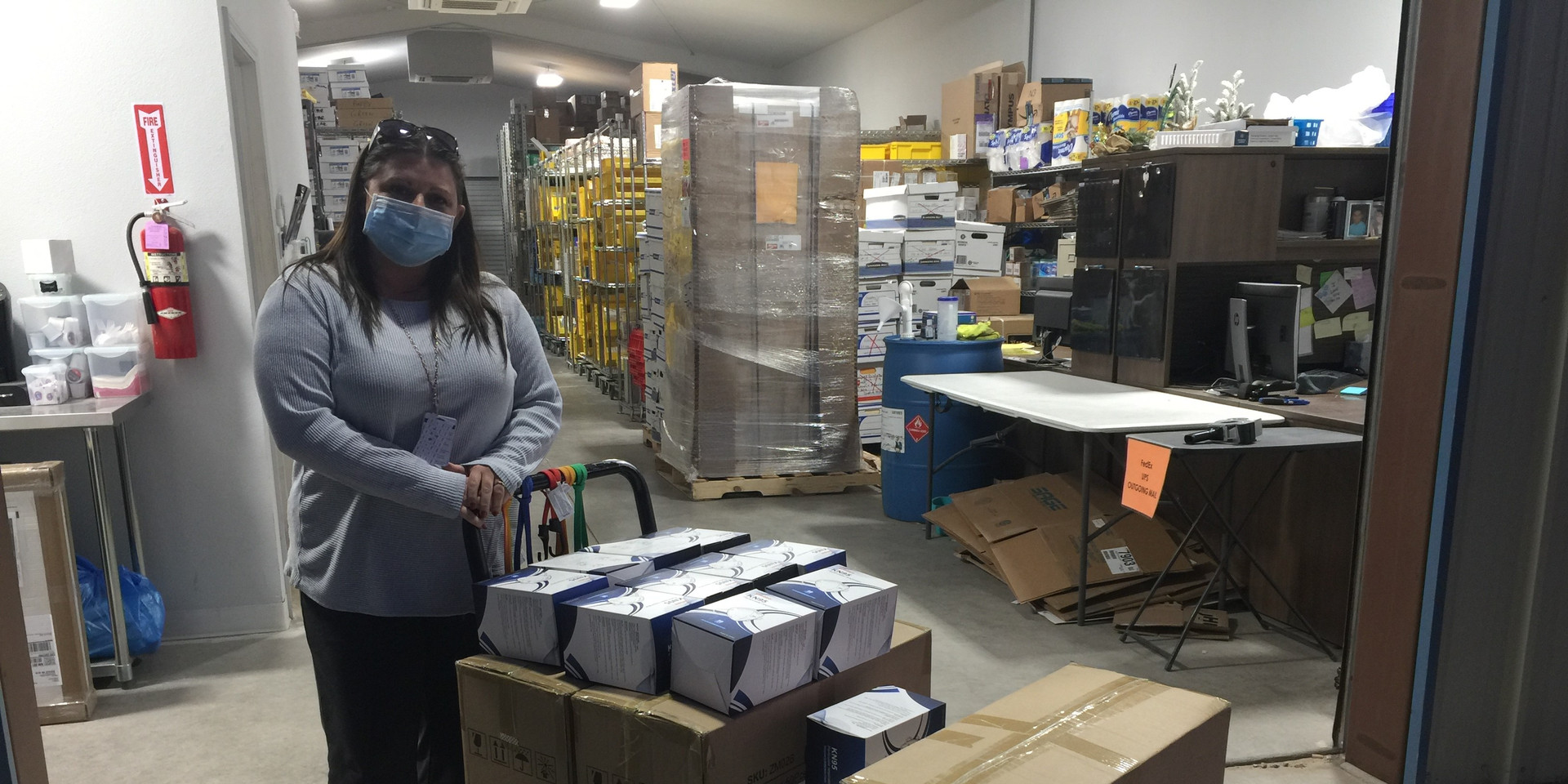 Mask Donation Delivery RGH