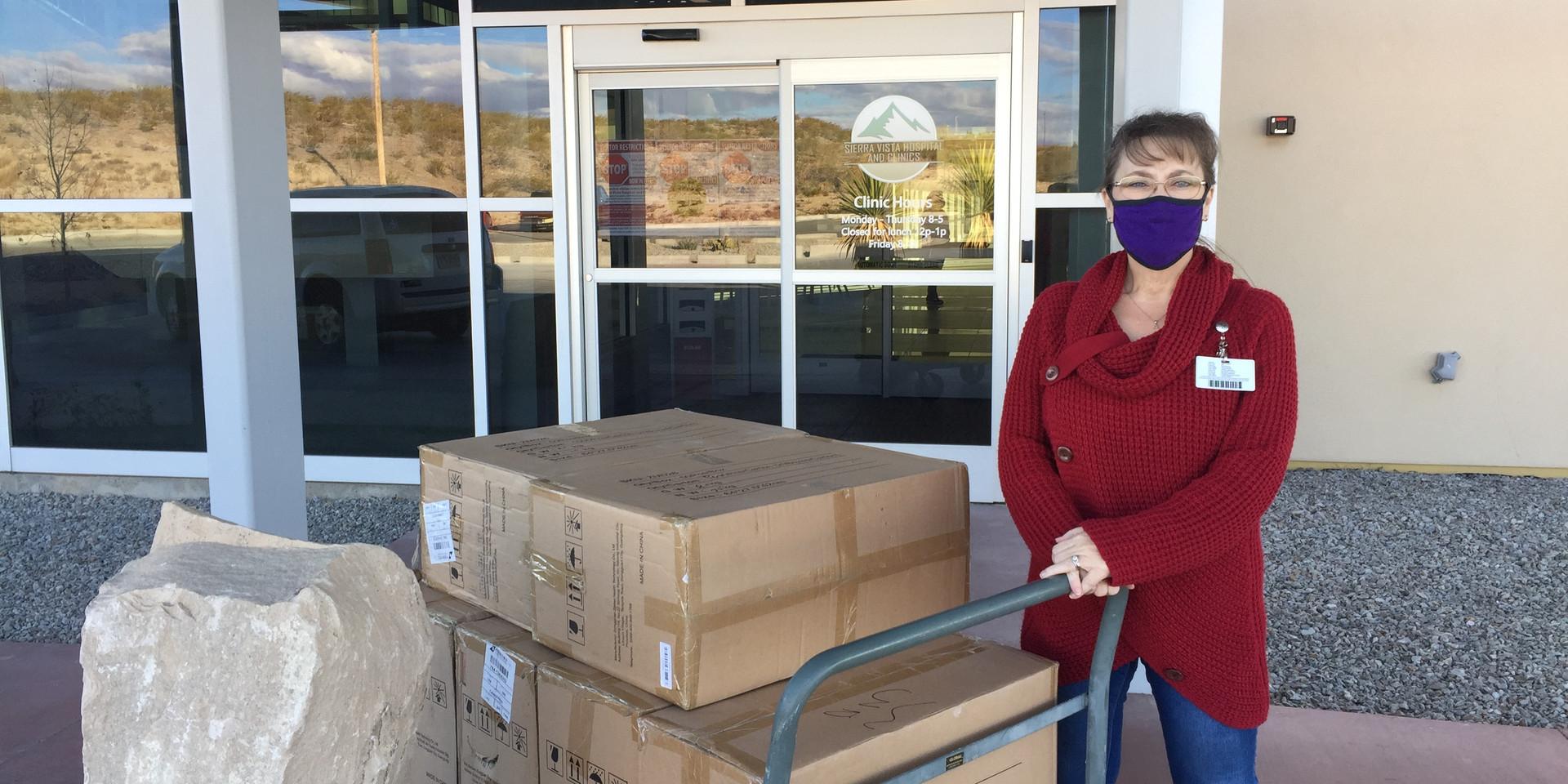 Mask Donation Delivery SVH