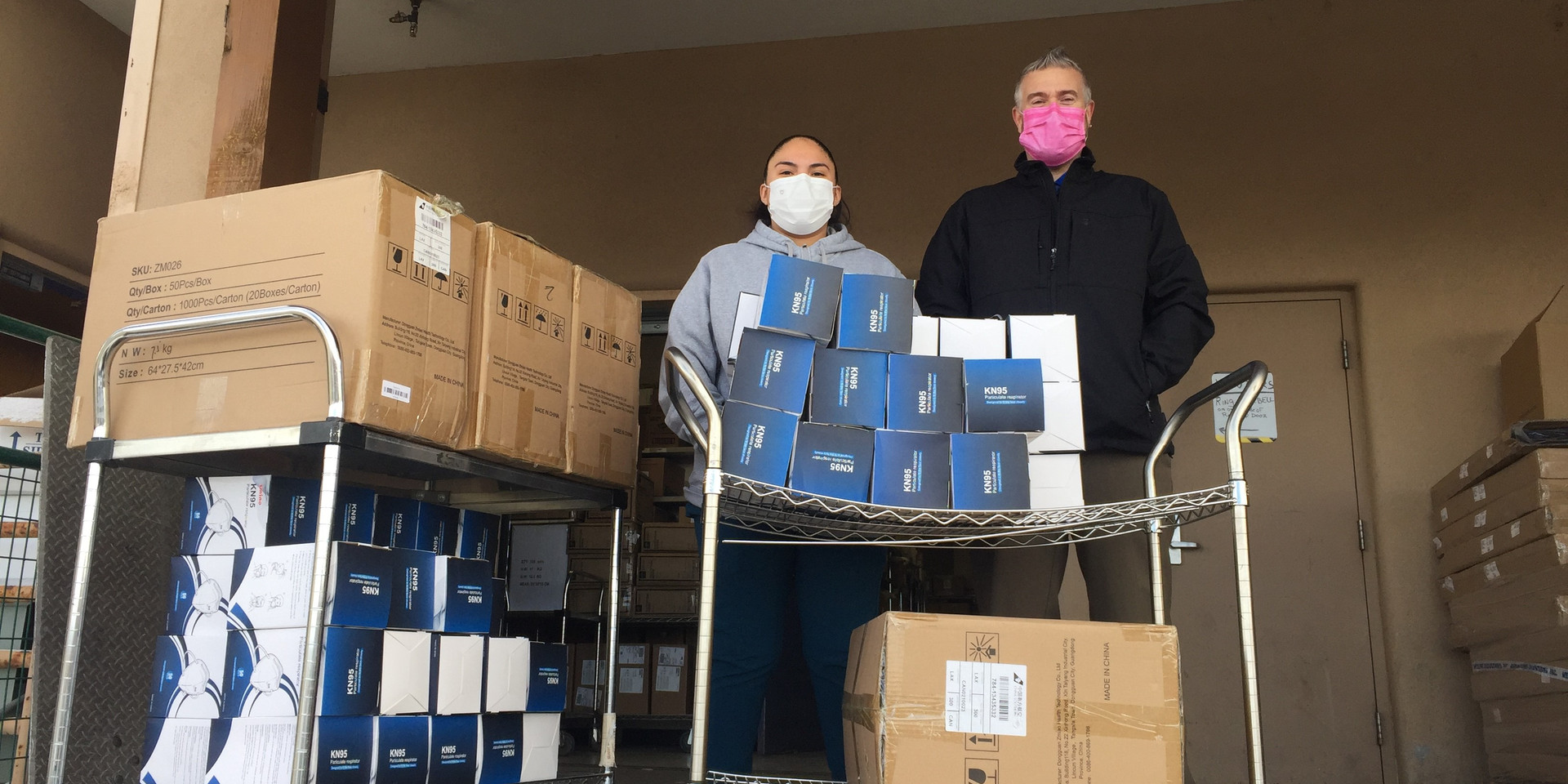 Mask Donation Delivery HCH