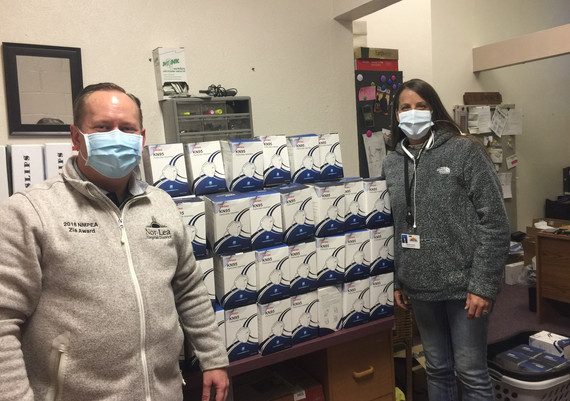 Mask Donation Delivery UCGH