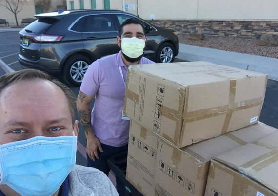 Mask Donation Delivery AGH