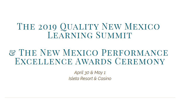 2019 Quality New Mexico Learning Summit