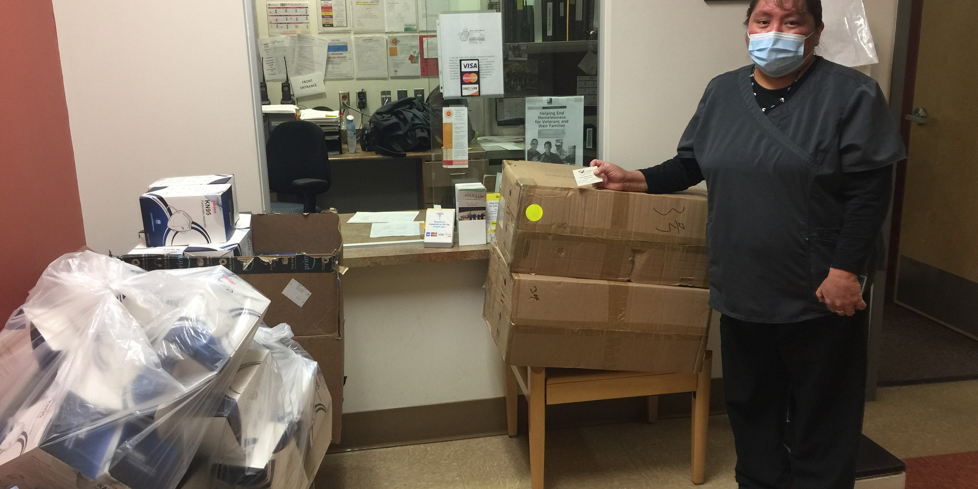 Mask Donation Delivery MCMC