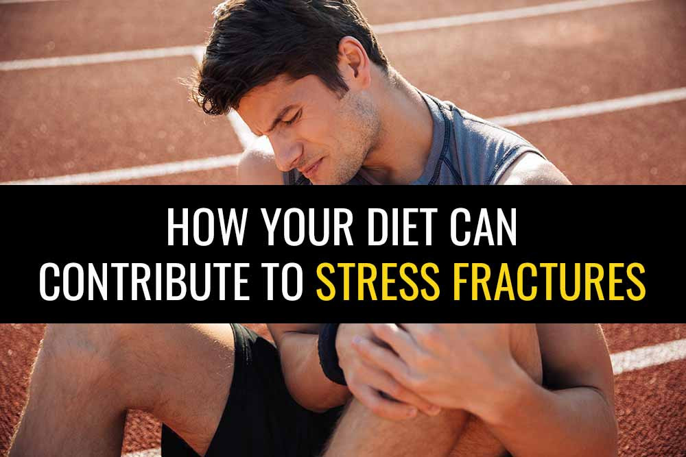Learn how your diet and a lack of certain key vitamins can cause stress fractures in runners.