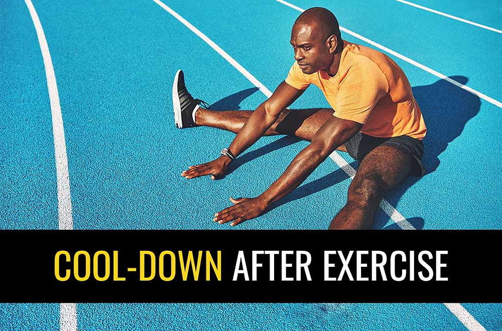 Learn what activities to include in your cool-down after sport.
