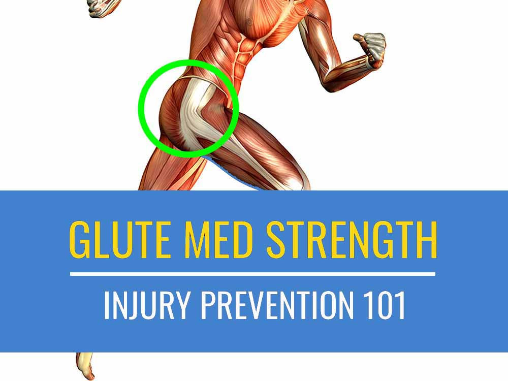 Glute med strength plays an important role in injury prevention in runners.