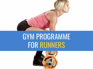 Gym workout for runners