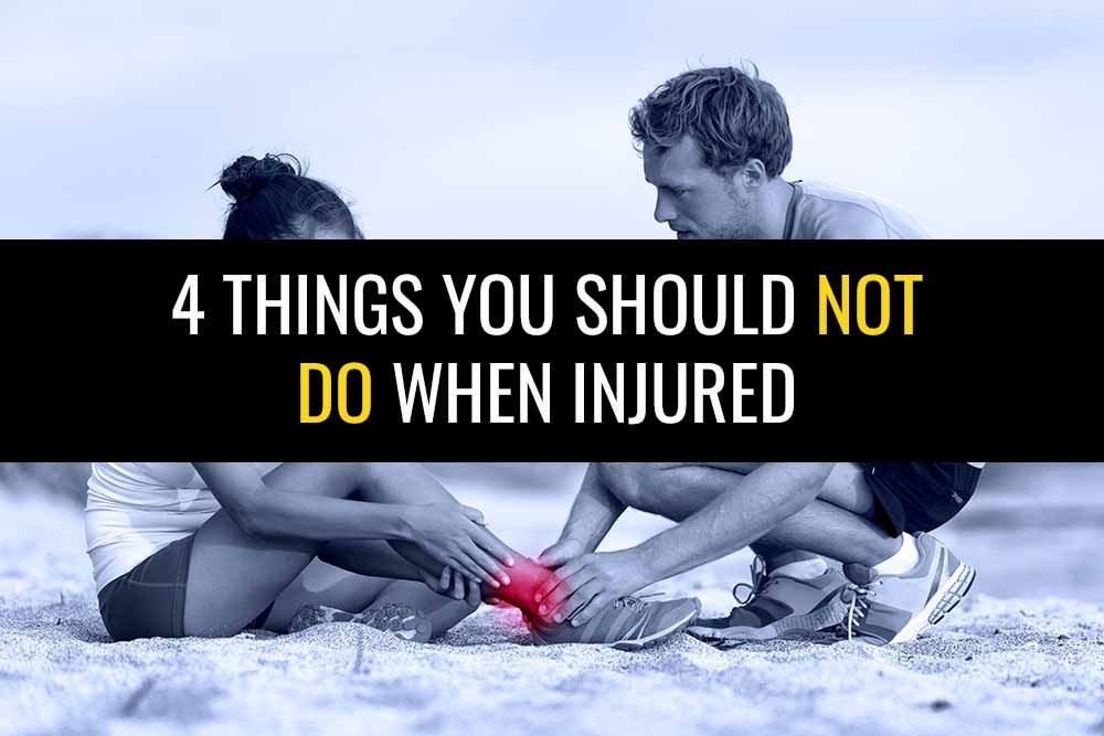 4 Things You Should NOT Do When Injured   Sports Injury Physio