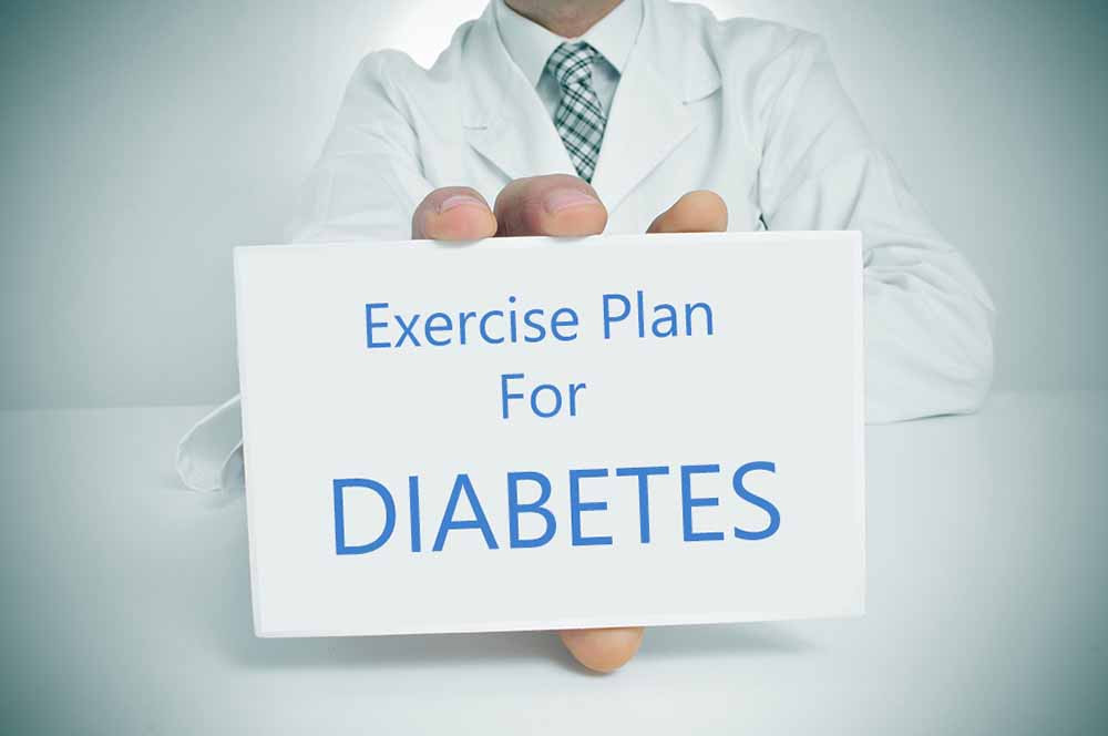 What exercise works best for diabetes.