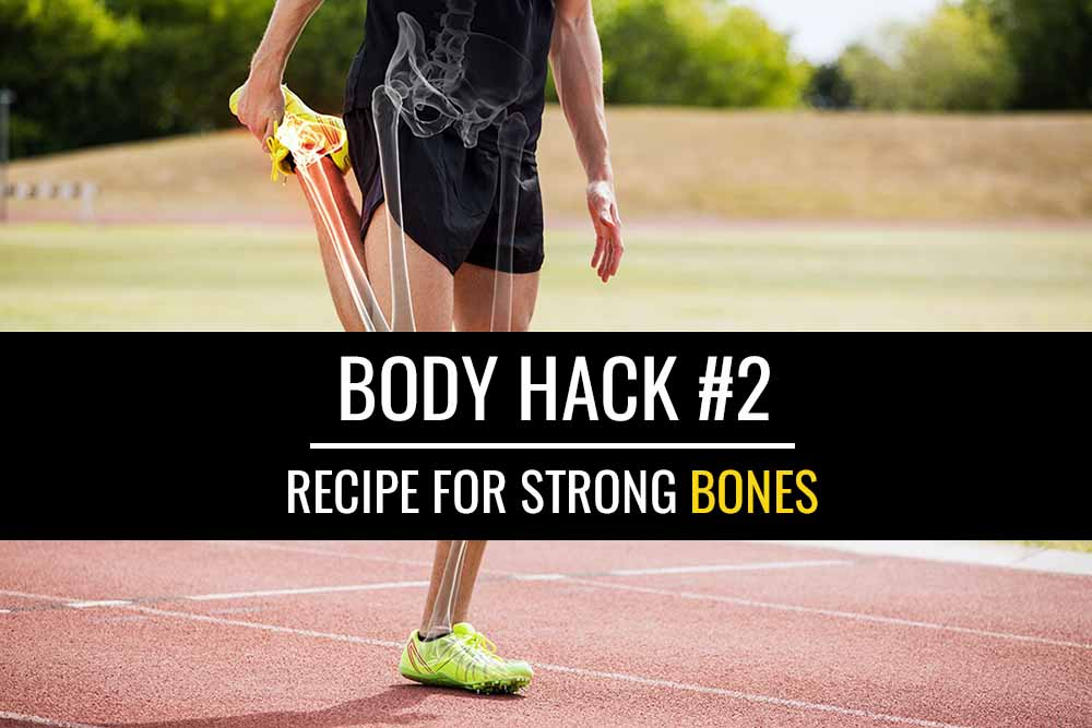 Body Hack #2: Recipe for strong bones | Sports Injury Physio
