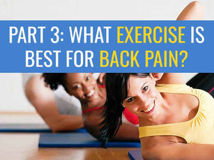 What is the best exercise for lower back pain? Part 3: Other Exercise
