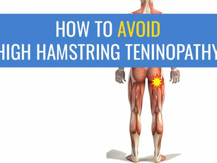 5 Tips for avoiding High Hamstring Tendinopathy in runners