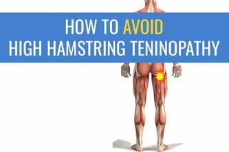 避免跑步者高筋肌腱病的5个技巧