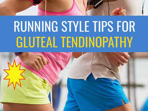 Running style tips for Gluteal Tendinopathy treatment