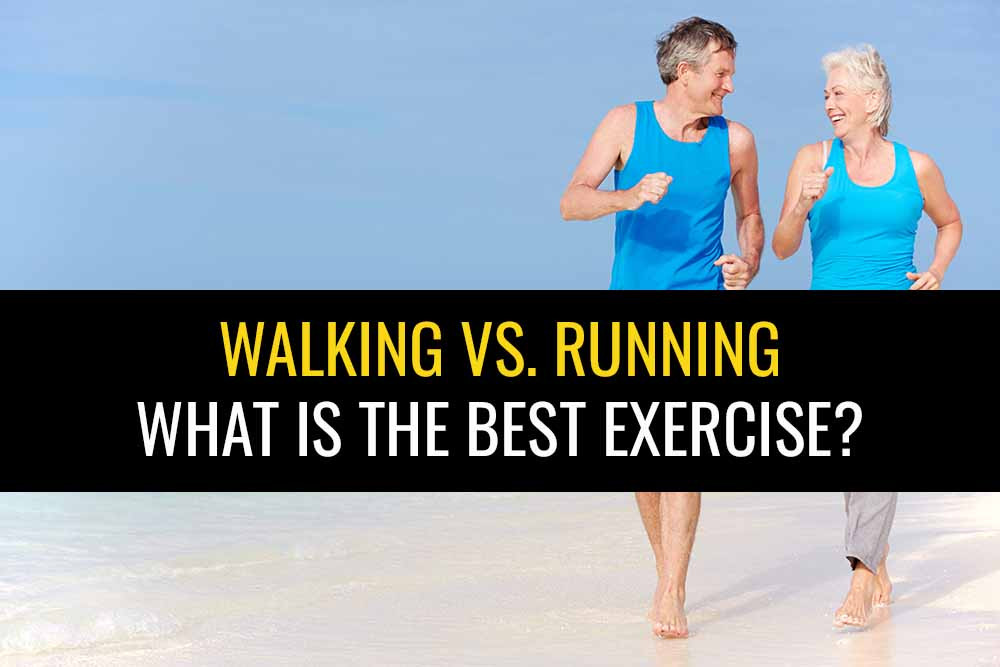 What exercise is better for your? Walking or running?
