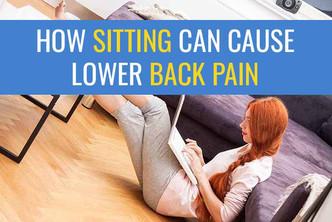 坐着怎么会引起腰痛