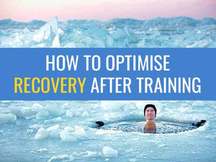 How to optimise recovery after training